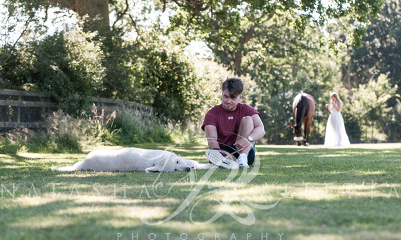 Horse and family portrait photography Oxfordshire