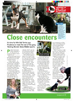 Photos of Prudence in Your Dog magazine.